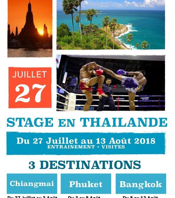 Stage den Thailande