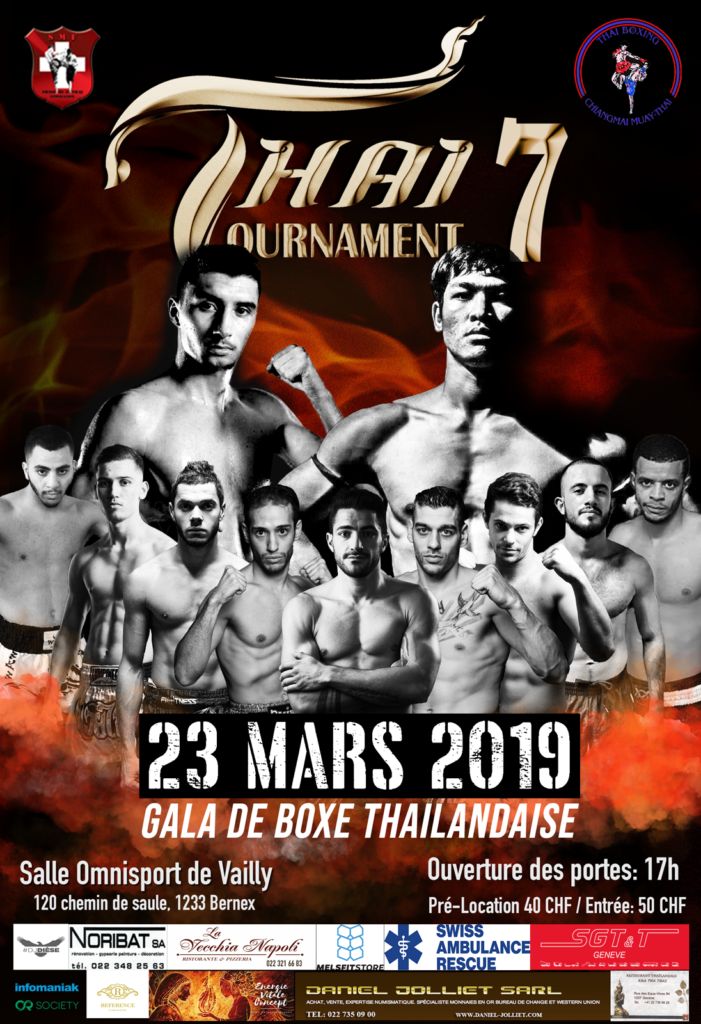 affiche thai tournament 7